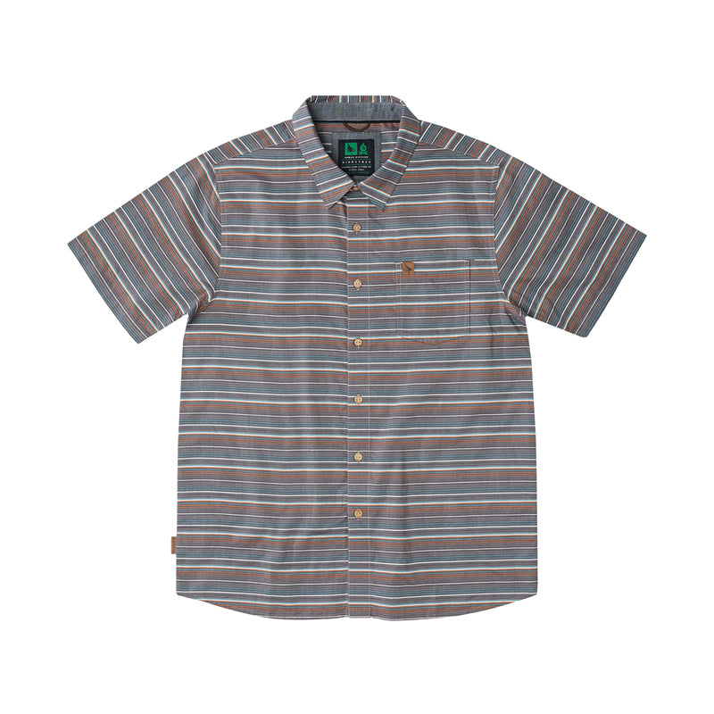 Hippy Tree Men's Montauk Woven S/S Button Up Shirt