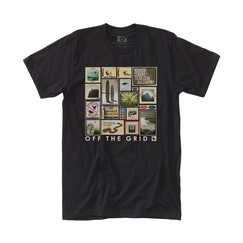 Hippy Tree Men's Collage S/S Tee