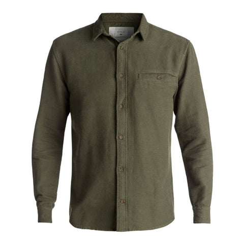 Quiksilver The Griggs Long Sleeve Button Up Shirt