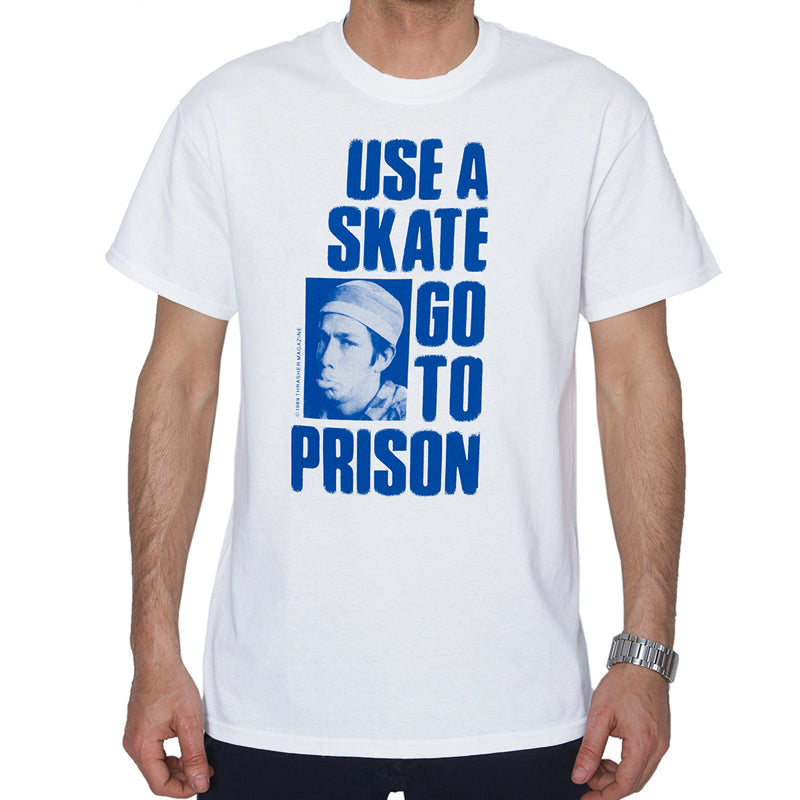 Thrasher Use A Skate Go To Prison Short Sleeve Tee