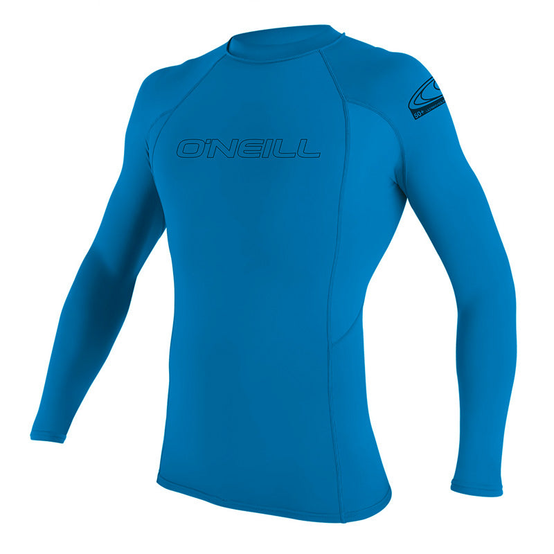 O'Neill Youth Basic Skins UPF 50+ Long Sleeve Crew Rashguard SP20