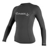 O'Neill Women's Basic Skins UPF 50+ Long Sleeve Rashguard FA19