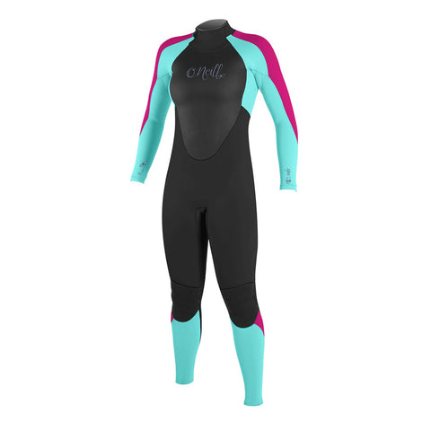 O'Neill Girl's Epic 4/3mm Back Zip Fullsuit Wetsuit FA19
