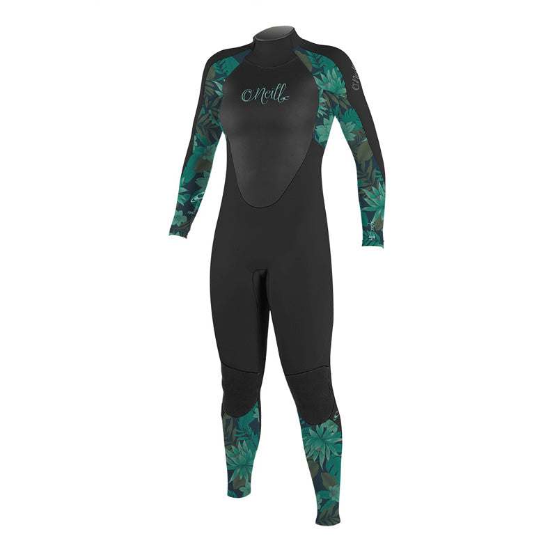 O'Neill Girl's Epic 4/3mm Back Zip Fullsuit Wetsuit SP20