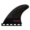Futures Q2D 4.15 Blackstix 3.0 Rear Fin