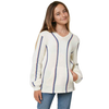 Girls Campground Hooded Sweater