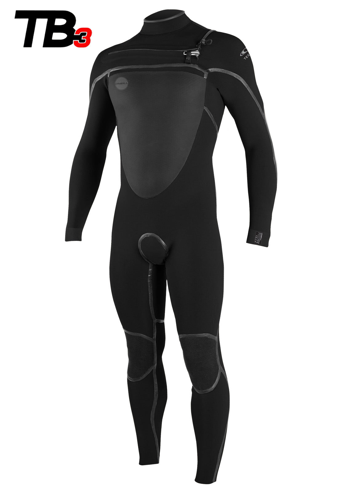 O'Neill Men's PsychoTech 3/2mm Chest Zip Fullsuit Wetsuit