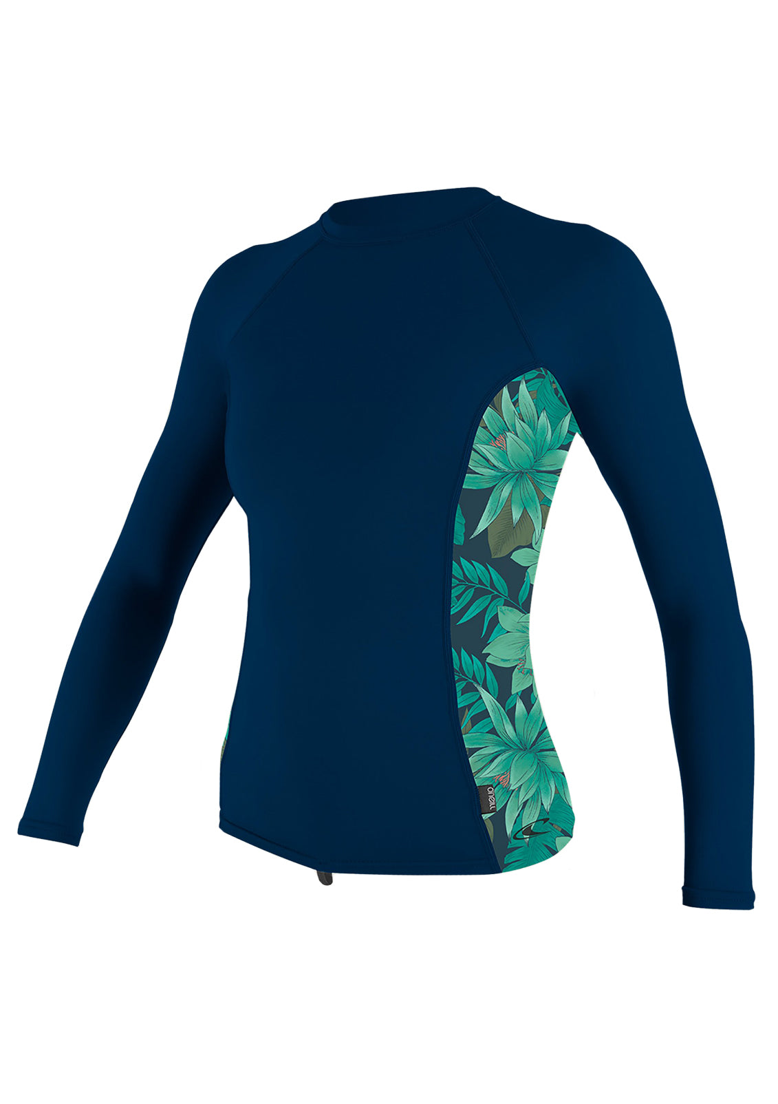 O'Neill Women's Side Print L/S Rash Guard