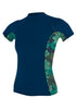 O'Neill Women's Side Print S/S Rash Guard FA19