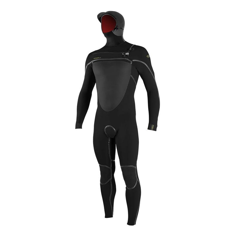 O'Neill Men's Psycho Tech 5/4+ Chest Zip Fullsuit W/ Hood Fullsuit Wetsuit FA19