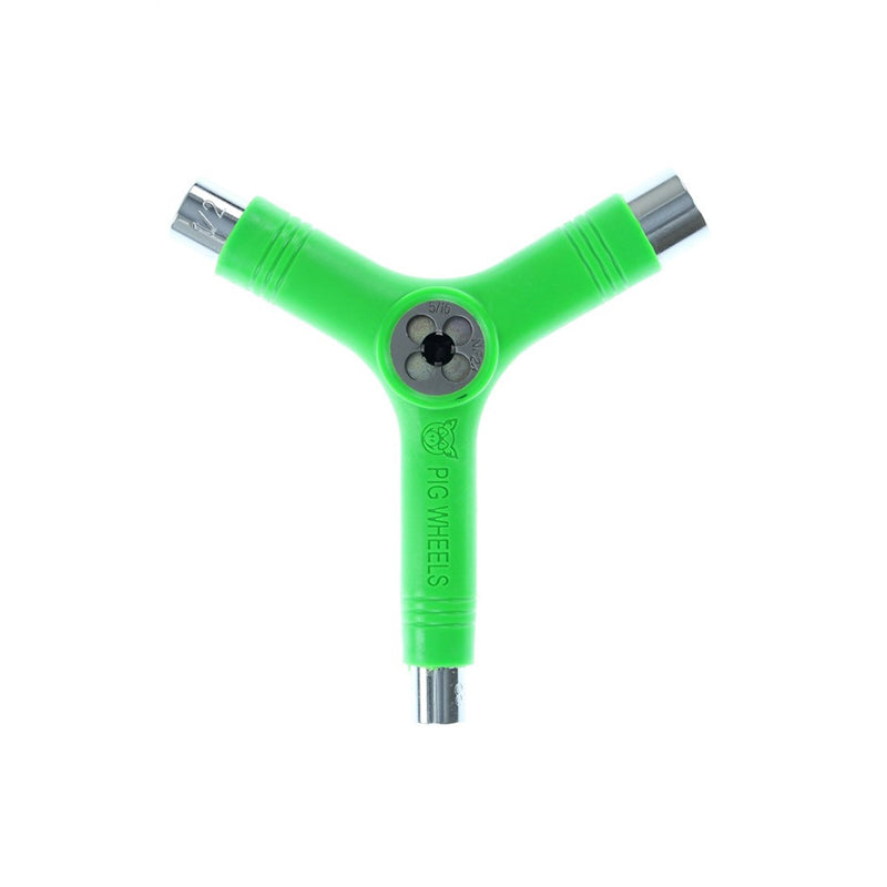 Pig Tri-Socket Skate Tool With Threader