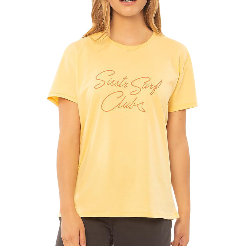 Sisstrevolution Women's Sis Surf Club S/S Tee FA19