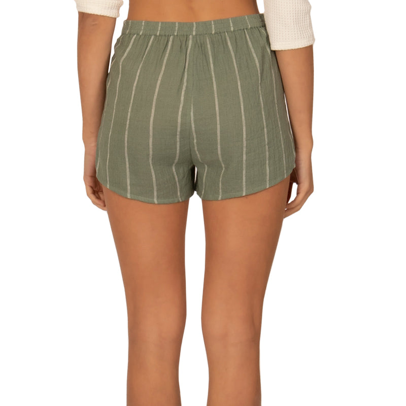 Sisstrevolution Women's Striped For Days Shorts