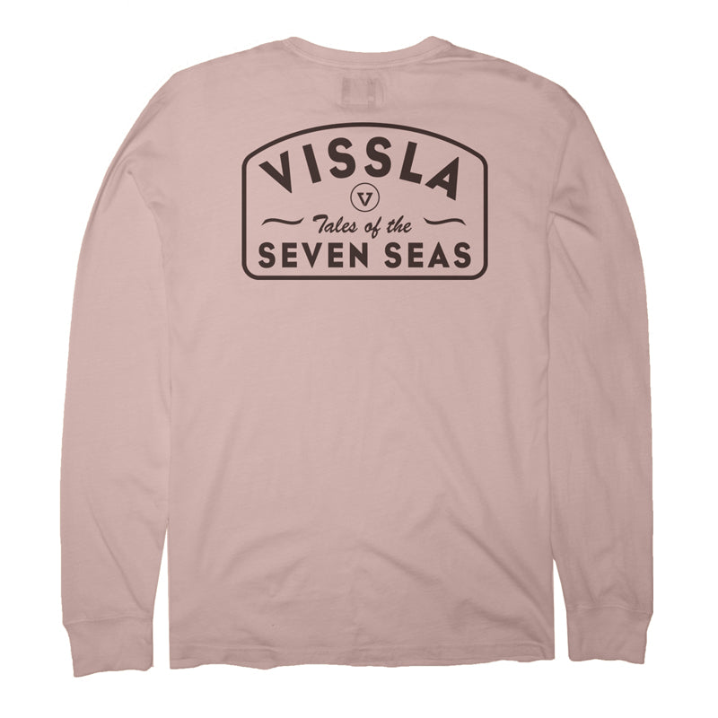Vissla Men's Plain Sailing L/S Tee FA19