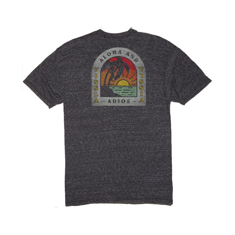 Vissla Adios Sunset Heather Short Sleeve T-Shirt