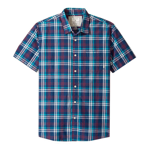 Quiksilver Tidal Shift Short Sleeve Button Up Shirt