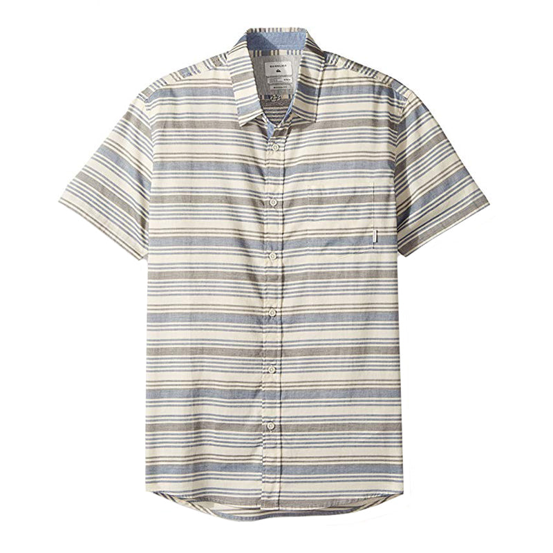 Quiksilver Aventail Short Sleeve Button Up Shirt