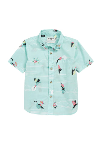 Little Boy's Sundays Mini Woven Shirt