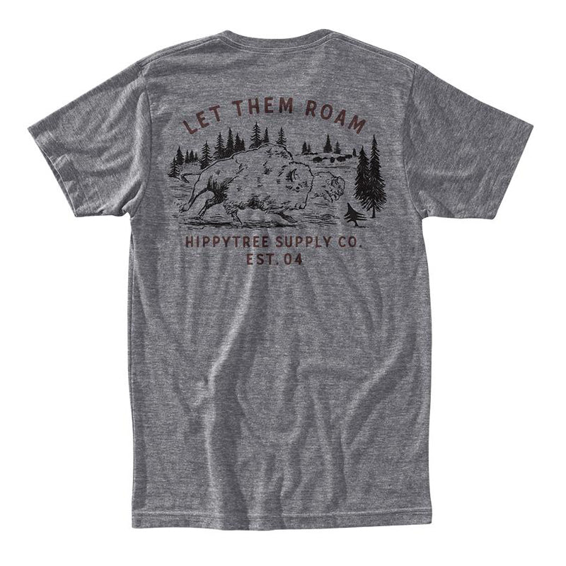Hippy Tree Men's Bison S/S Tee FA19