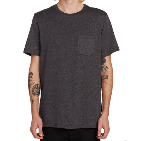 Volcom Heather Pocket Short Sleeve T-Shirt