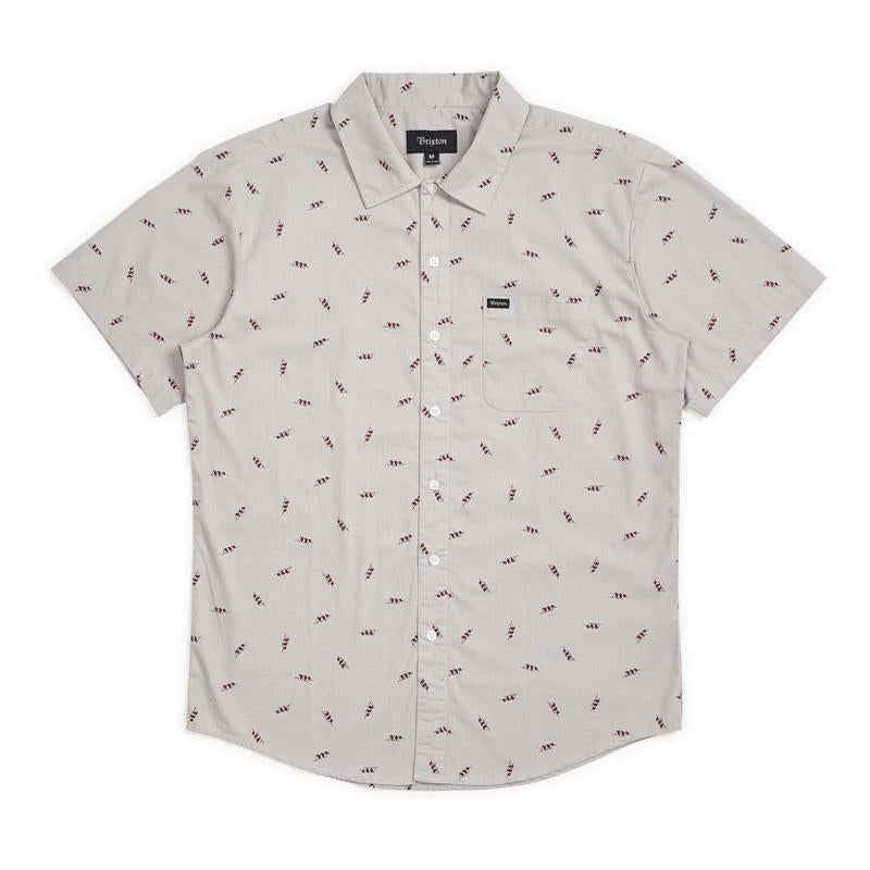 Charter Print S/S Button-Up Shirt