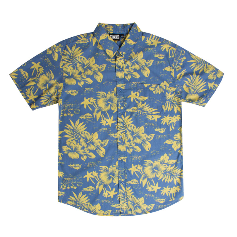 Classic Floral S/S Button Up Pocket Shirt