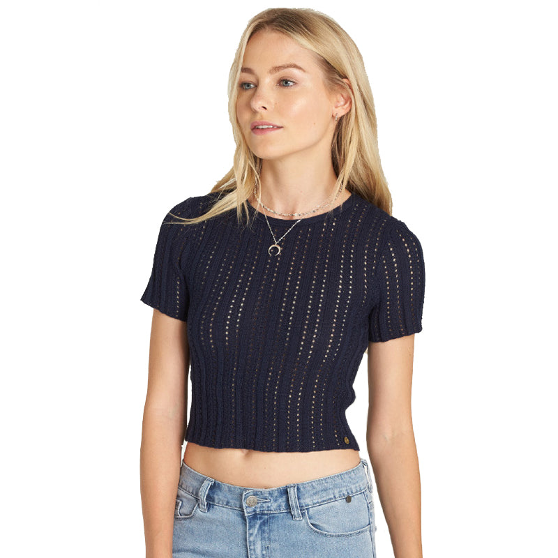 Women's Alive S/S Knit Top