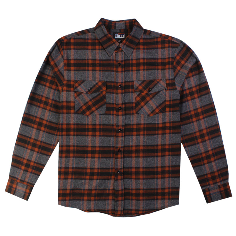 Jacks Surfboard Pueblo Long Sleeve Flannel