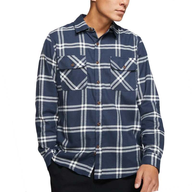 Hurley Salinger Long Sleeve Flannel