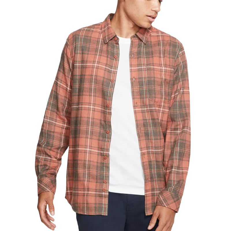 Hurley Vedder Washed Long Sleeve Flannel