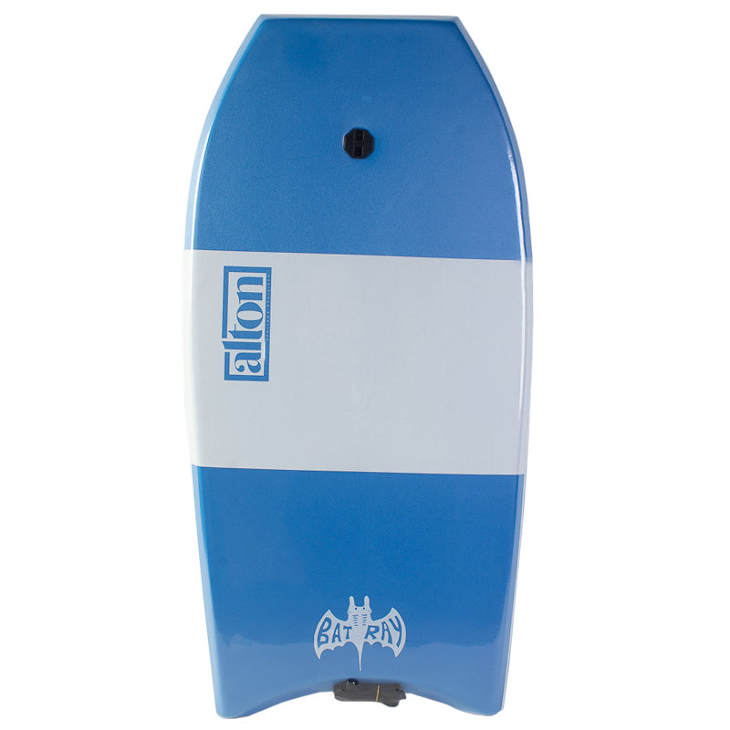 "Bat Ray 39"" Bodyboard Light Blue/White"