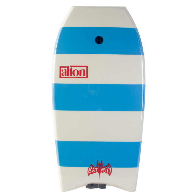 "Bat Ray 39"" Bodyboard White/Blue"