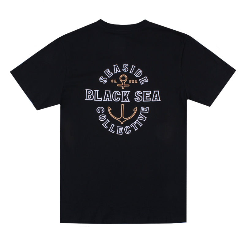 Black Sea Ahoy Short Sleeve Tee