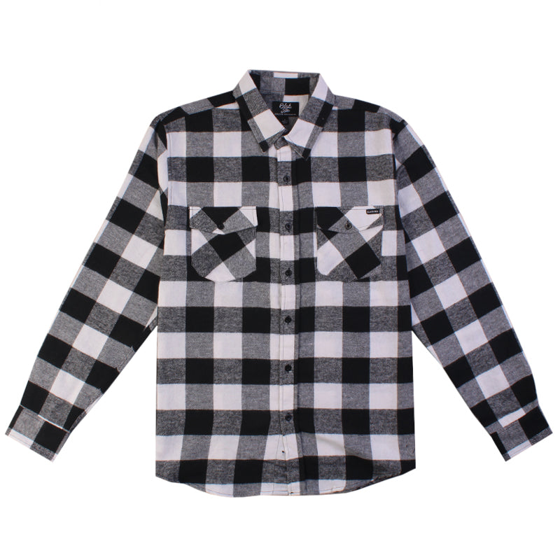 Black Sea Aurura Long Sleeve Flannel
