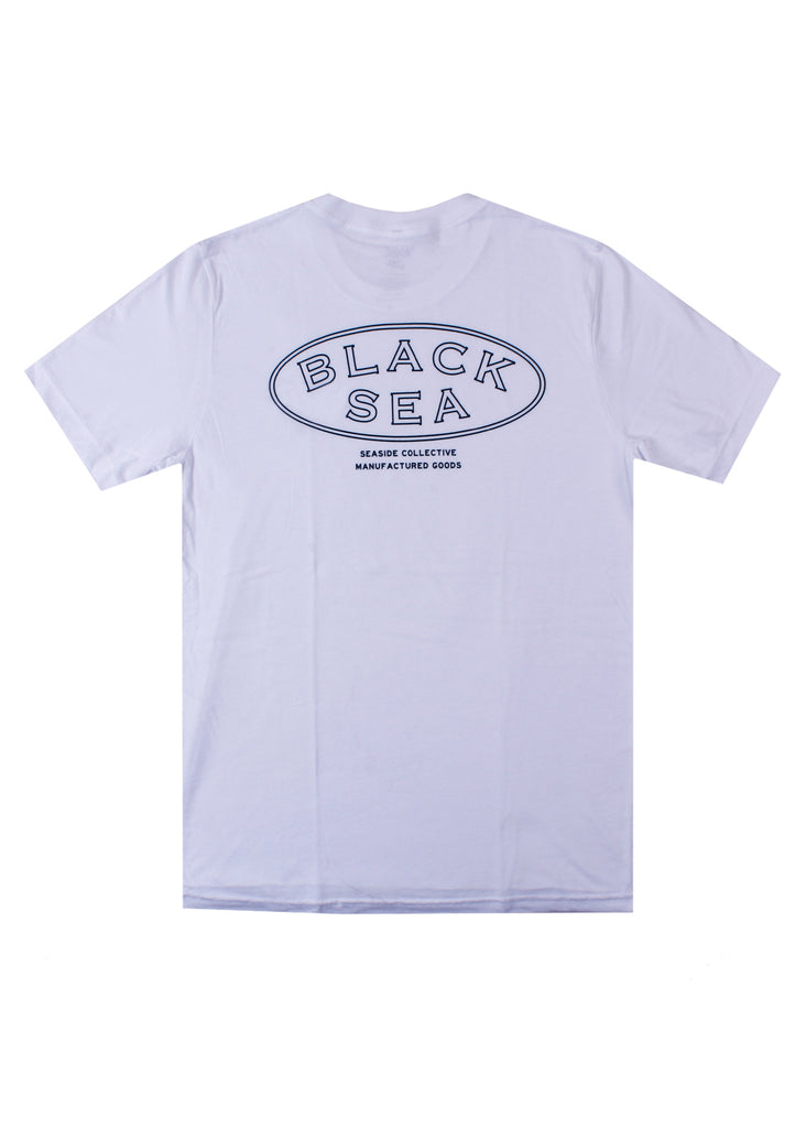 Black Sea Copperplate Short Sleeve Tee