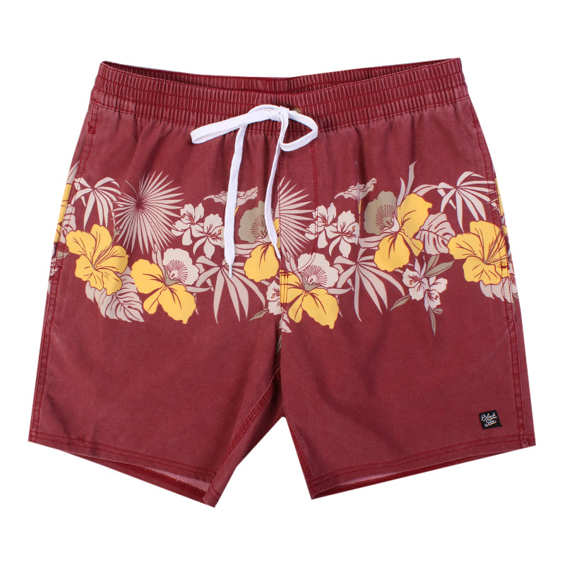 Black Sea Floral Rides Boardshort