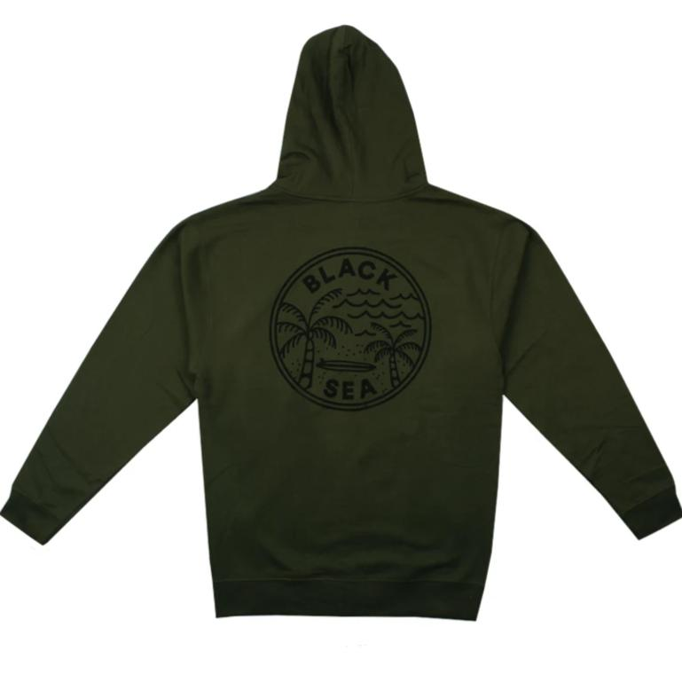 Black Sea Loose Change Zip-Up Hoodie