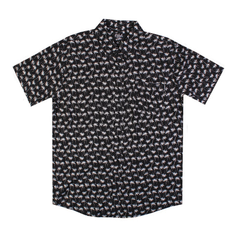 Black Sea Mini Palm Button Up Shirt