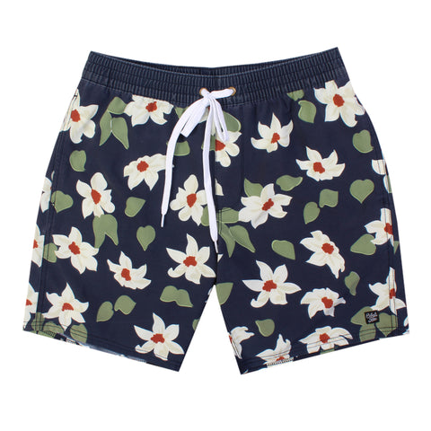 Black Sea Plumeria Boardshort
