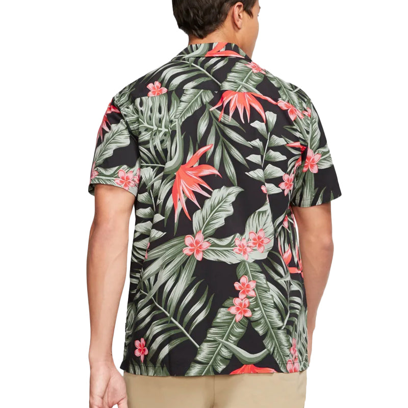 Hurley Party Wave Short Sleeve Button Up Shirt