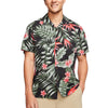 Party Wave Short Sleeve Button Up Shirt