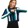 Women's Stripe Crewneck Sweater Weather