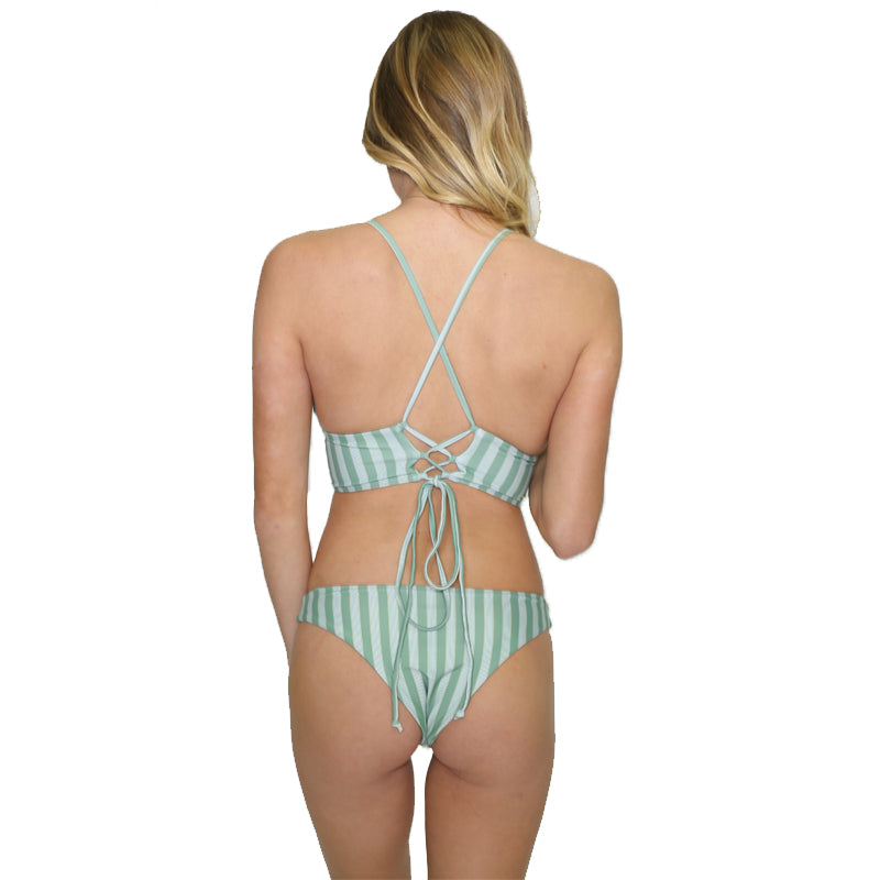 Courtney Deep Plunge Swim Top 2020