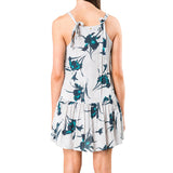 Rusty Women's Earning Flowers Midi Dress