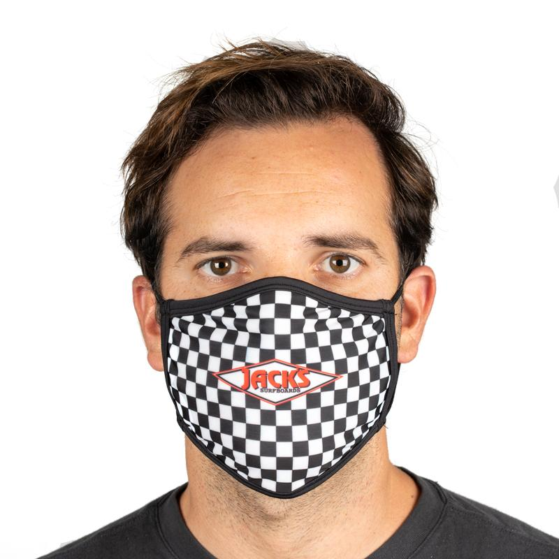 Unisex Everyday 'Diamond Checkerboard' Face Mask