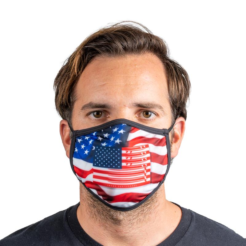 Unisex Everyday 'USA Flag' Face Mask