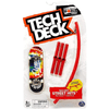 Element Tech Deck Street Hits Skateboard W/ Obstacle Curved Rail