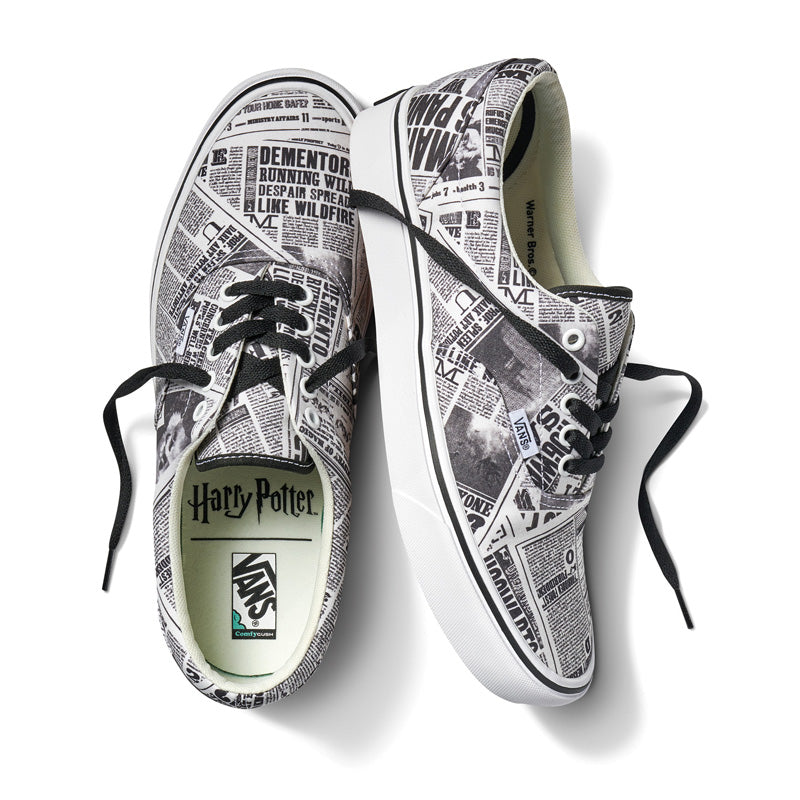 Vans x Harry Potter The Daily Prophet Era Shoes