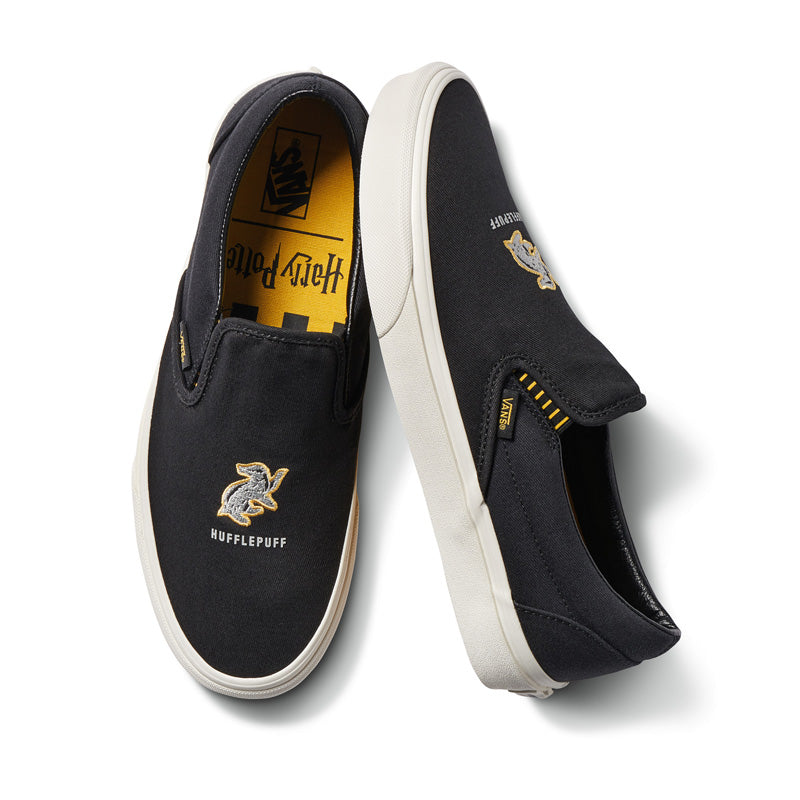 Vans x Harry Potter Hufflepuff Classic Slip On Shoes