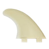 FCS M5 Natural Glass Flex Thruster Tri Set Surf Fins SP20